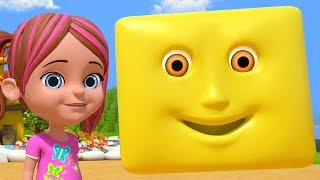 We are Shapes   Shapes Song   Learning Videos for Kids   Nursery Rhymes by Little Treehouse