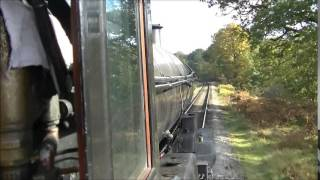 NYMR Holiday D7 Footplate Experience Friday 17th October 2014