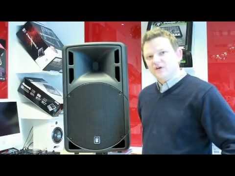 QTX Sound QRC15A Active PA Speaker - Demonstration