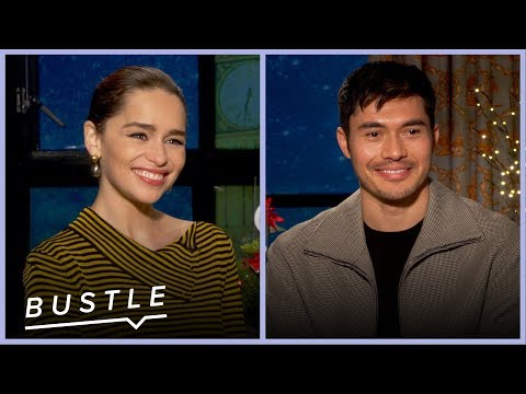 Emilia Clarke and Henry Golding Play Holiday Movie Would You Rather? | Bustle Cuts
