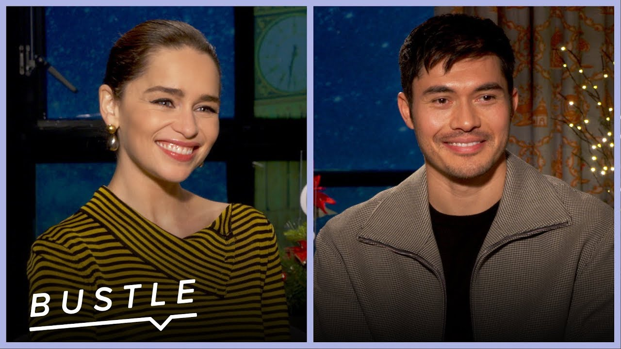 "Emilia Clarke and Henry Golding Play Holiday Movie ""Would You Rather?"" 