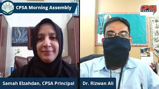 CPSA Morning Assembly Monday 3-22-2021