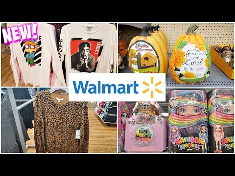 Walmart * New CLEARANCE CHRISTMAS IDEAS AND FALL * SHOP WITH ME AUGUST 2019 thumbnail