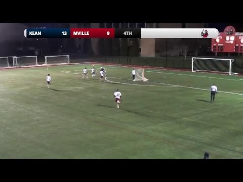 Manhattanville Men's Lacrosse vs. Kean - YouTube