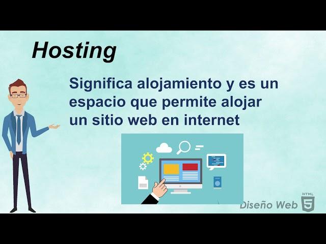 Curso HTML5 VII Publicación hosting y dominio