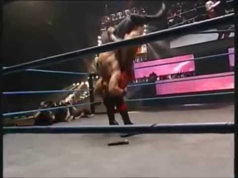 Jerry Lynn Cradle Piledriver To Eddie Guerrero Onto A Belt