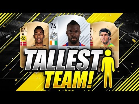 Tall football players fifa 18 kode fifa 2018