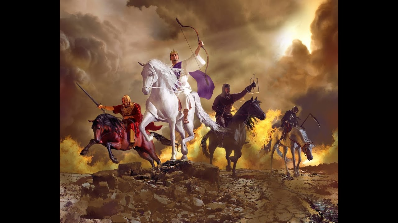 4 Horsemen of the Apocalypse - Revelation 6 - YouTube
