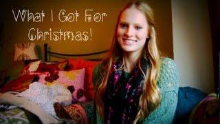 What I Got For Christmas 2012 ❄ Thumbnail