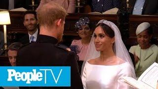 Prince Harry & Meghan Markle Exchange Vows Inside St. George's Chapel   PeopleTV