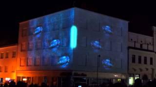 Videomapping: Papírovka od Tata Bojs, 10. výročí Freeport Thumbnail