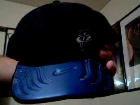 a closer look at the penny hardaway foamposite nike snapback cap ... 73458192877