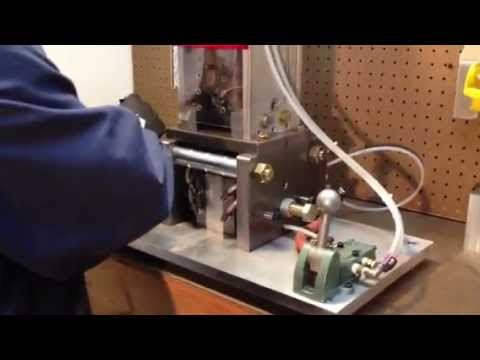 Hobby Molding Machine Making a Plant Marker