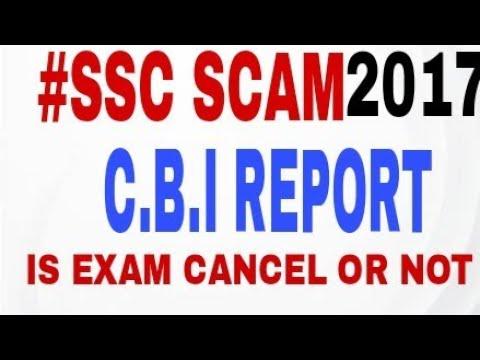 SSC cgl 2017 CBI REPORT ON F.I.R