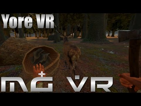 Yore VR - Update 0.3.3.3 (Hunting and Crossbows... Kinda...) - VR Gameplay HTC Vive