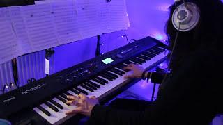 bauhaus bela lugosis dead piano cover