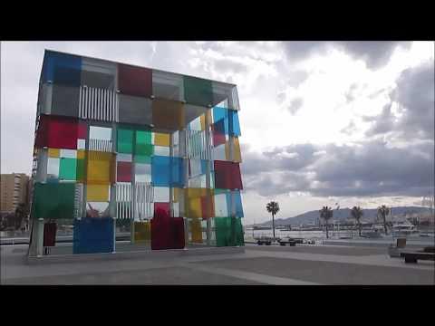 Malaga, Spain: the Port, the gardens and the beach