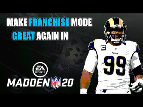 "Make Madden 20 Franchise Mode Great With ""TFGREAL2020"" Custom Roster Overhaul"