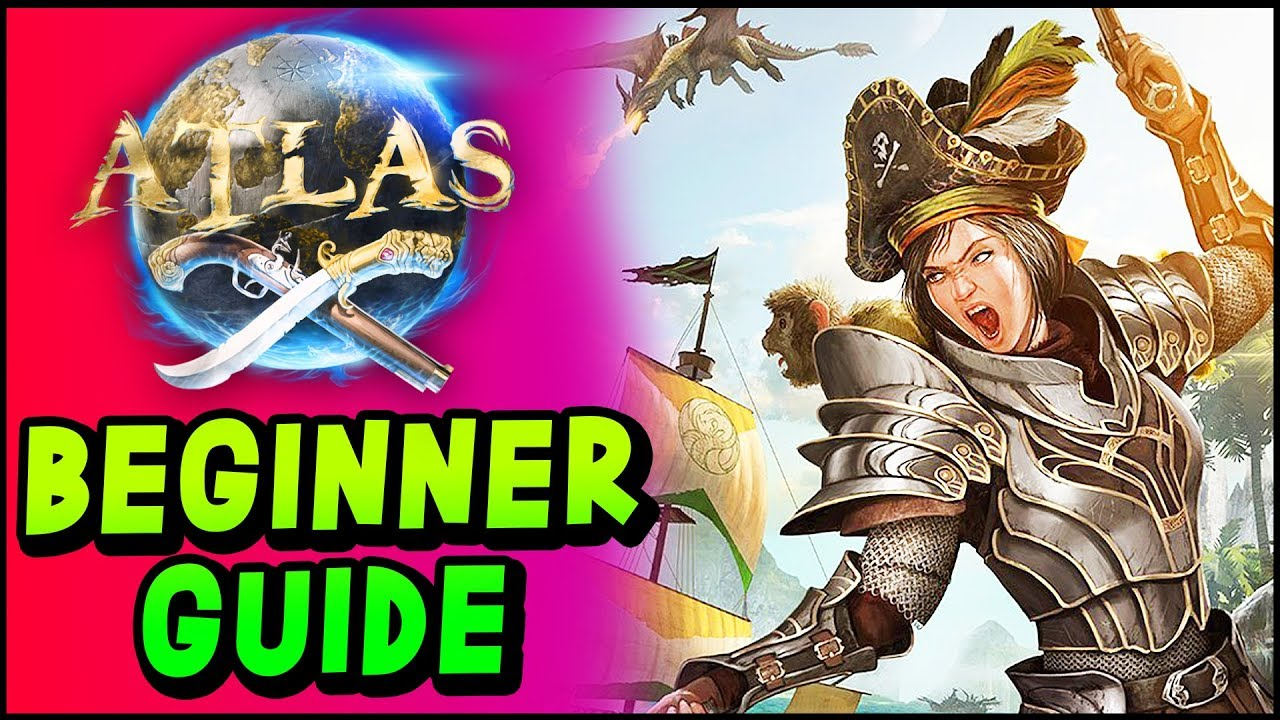 ATLAS GUIDE - Beginner Guide & Tutorial - Gameplay Basics, Crafting,  Building Your First Ship!