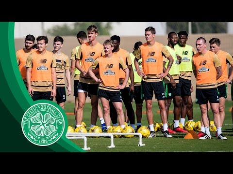 Celtic FC - #BHOYSINDUBAI☀️️: Fitness Exercises, Passing Drills, Shooting Practice & More!