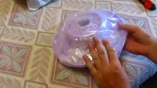 Посылка из Китая распаковка № 20 Вращающаяся подставка для торта размером 27,5 см
