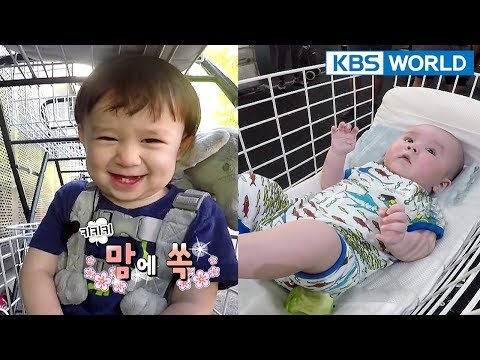 WILLIAM & BENTLEY! Let's ride a trolley! XD [The Return of Superman/2018.04.15]