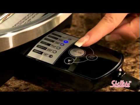 George Foreman Healthy Cooking SkilLite™ Searing Skillet