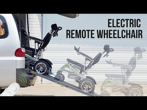 Airwheel H3T-Automatic & Electric WheelChairs(Elektro rollstuhl) with Remote Control Review