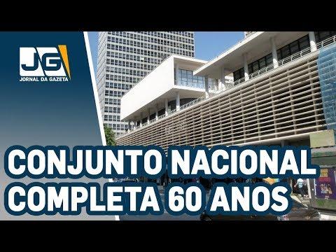 Conjunto Nacional, na av. Paulista, completa 60 anos