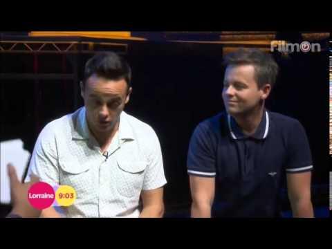 Ant & Dec - Takeaway on Tour Interview - Lorraine 06 08 14