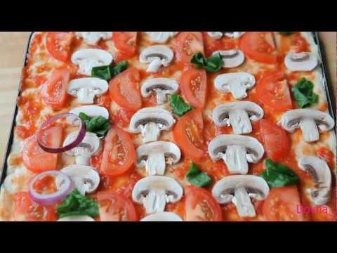 пицца видео рецепт