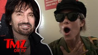 tommy-lee-s-wife-brittany-furlan-doesn-t-remember-her-date-with-our-camera-guy-tmz-tv