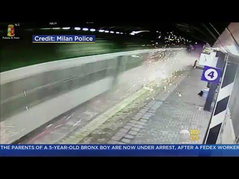 Caught On Camera: Deadly Train Derailment
