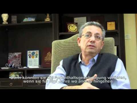 Interview mit Mustafa Barghouti über den Friedensprozess, Januar 2011 - Teil 1 [dt. Untertitel].flv