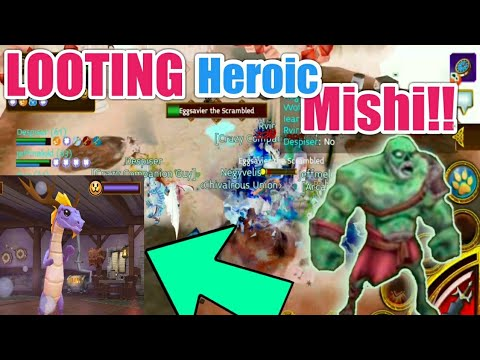 Arcane Legends - LOOTING Heroic MISHI!!  || Best Of Egg-Zavier Event 2018!