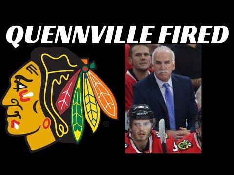 Blackhawks Fire Joel Quennville