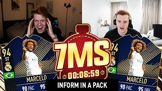 STRIKER TOTY MARCELO 7 MINUTE SQUAD BUILDER VS CAPGUNTOM!! - FIFA 18 ULTIMATE TEAM
