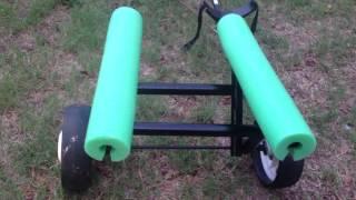 Diy Kayak Cart - Super Simple Using Golf Cart Wheels