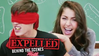Andrea Russett & Marcus Johns Gross Food Challenge! Expelled Behind the Scenes