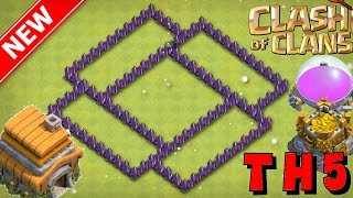 New BEST Popular Th5 Trophy/War Base [2017] Farming (Protect Loot & Trophies) - Win Lots - CoC