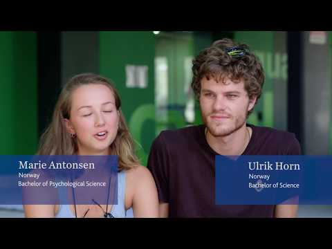 From Norway to JCU - Marie and Ulrik's Story