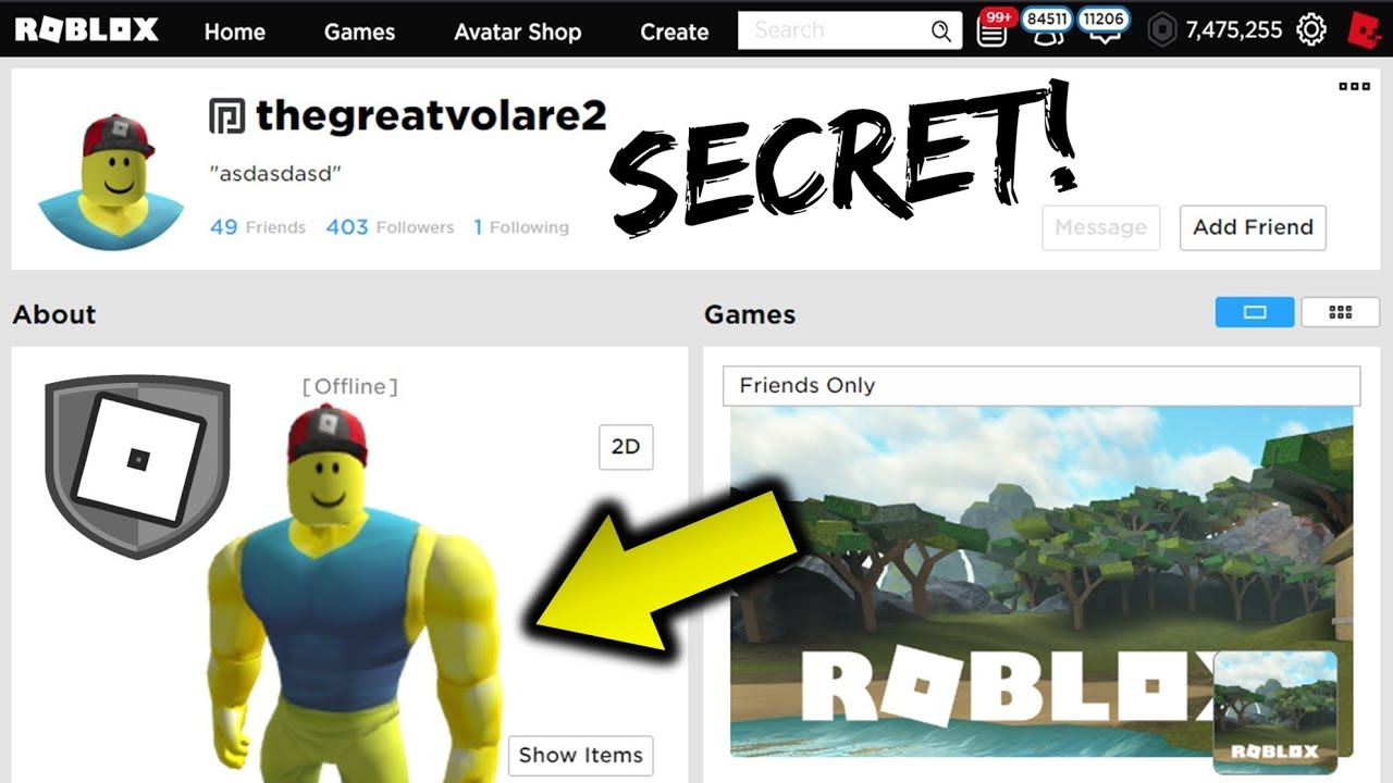 Buff Roblox Noob Avatar These Weird Admin Profiles Have Un Released Accessories Youtube