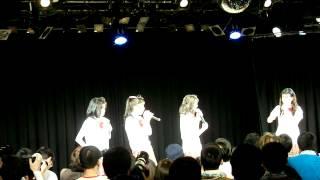 2014年4月29日、ことにパトスで開催されたミルクスの『ミルクスフリーライブ「トレンディバブル魅流駆好〜ランバダまだか?〜」』です。 3曲目終わりのMCその2.