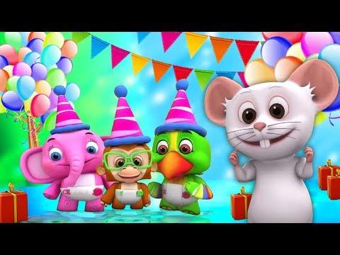 Selamat Ulang Tahun Lagu | Lagu Anak | Kartun Anak | Little Treehouse | Happy Birthday Songs