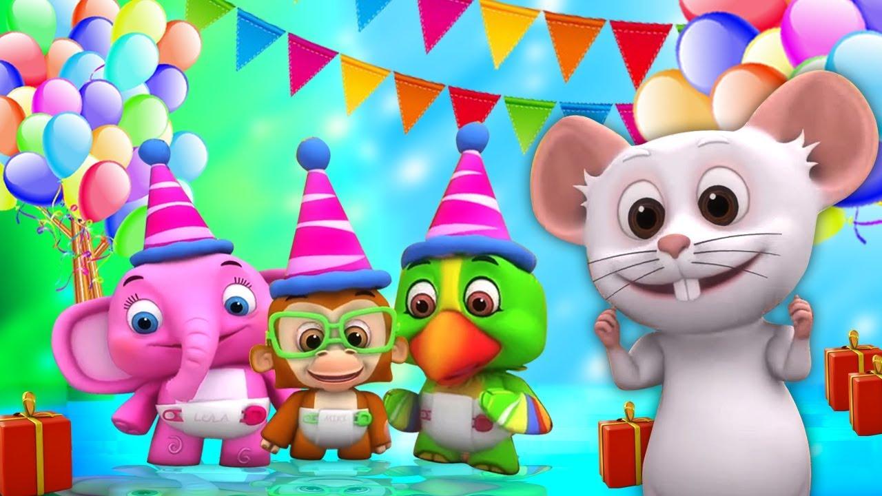 Selamat Ulang Tahun Lagu Lagu Anak Kartun Anak Little Treehouse