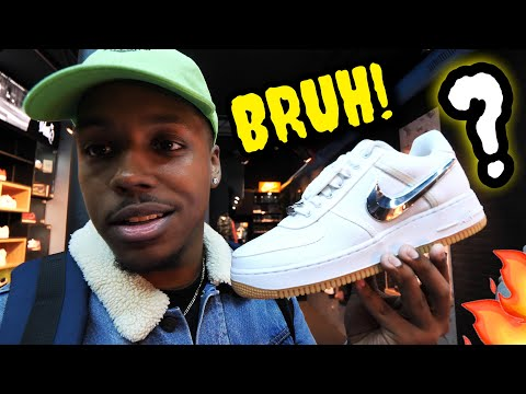 HUNTING FOR *RARE* SNEAKERS IN PARIS!!! SNEAKER SHOPPING GONE WRONG...I ALMOST HAD THEM!