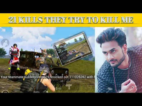 21 KILLS || THEY TRY TO KILL ME || PUBG MOBILE KR VERSION GAMEPLAY || RAWAN GAMING