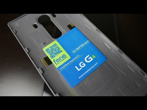 How To Add Wireless Charging to your LG G4 with SlimPWRPatch