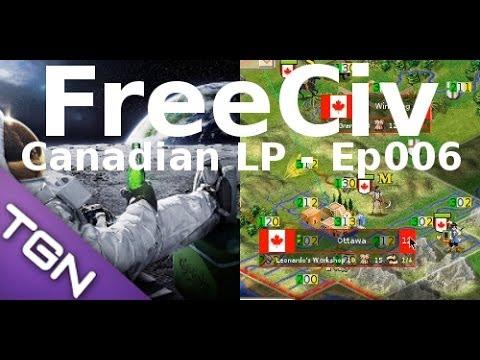 FreeCiv 2.4.0 [SDL Client] Canadian LP - Ep006