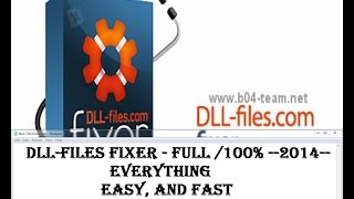 How to download and install Dll Files Fixer  lastet version